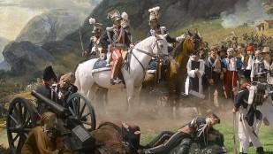 Obraz Horace'a Verneta 'Bitwa pod Samosierrą'
