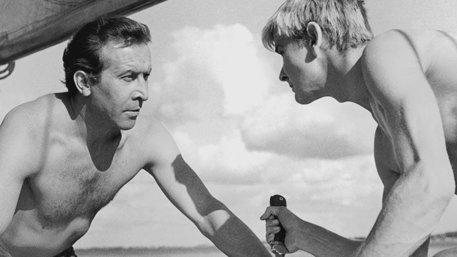 Fotos z filmu Nóż w wodzie