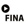 Logotyp. Filmoteka narodowa Instytut Audiowizualny. W skrócie FINA