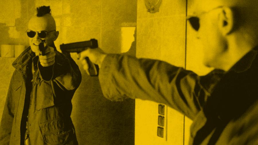Kadr z filmu Kiler