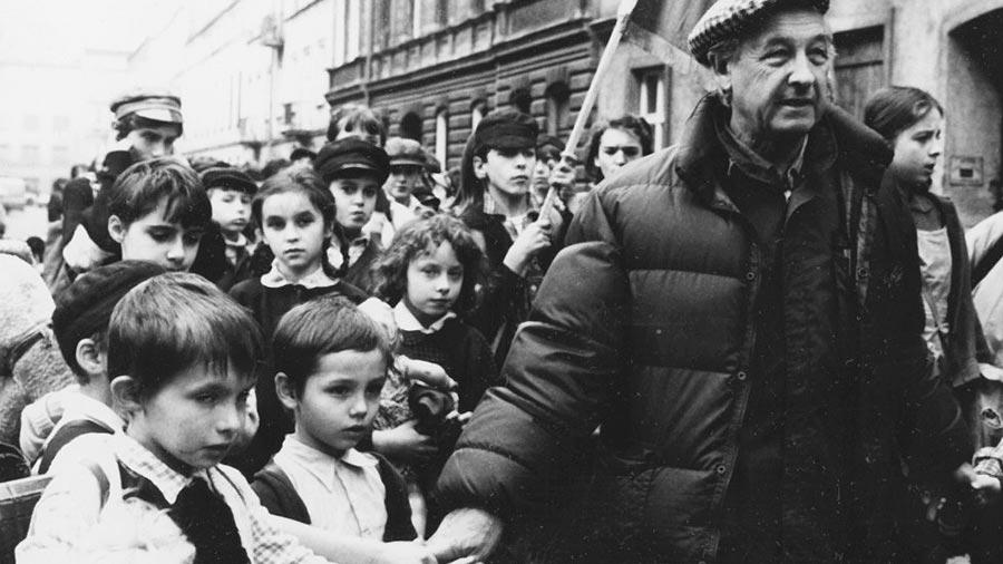 Andrzej Wajda - fotos z filmu Korczak
