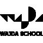 Logotyp Mistrzowskiej Szkoły Filmowe Andrzeja Wajdy